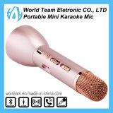 Портативный беспроволочный шикарный удобный миниый микрофон Karaoke Bluetooth