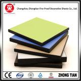 Tarjeta azul del laminado del compacto del Formica del color