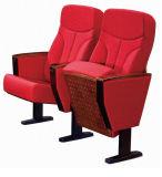 Silla del auditorio de la pierna de la cubierta y del metal de asiento de la tela (RX-318)