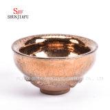 Kop van de Thee van het Porselein van de Glans van Tianmu van het porselein de Chinese die in Dehua wordt gemaakt/(GOUD)