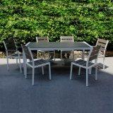 ベルトおよび道の昇進の製品の屋外の家具の庭のピクニック粉の噴霧アルミニウム木のレストランの椅子表セット