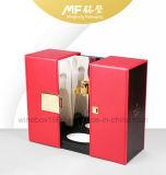 Коробка подарка вина великолепной краски рояля MDF роскоши твердая