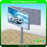 v 모양 정면 Lit 강철 게시판 옥외 광고 게시판 구조