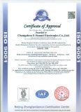 8ohm 0.5W 15mm*15mm*4.0mm SMD/SMT Minilautsprecher Dx-S15040r8n-01