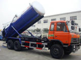 camion d'égout de vide de tonnes de l'aspiration Truck15 des eaux d'égout 15000L