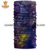 Bandana de múltiples funciones de encargo de Ouwang con los pescados impresos