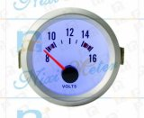 "2 ""52mm Voltmeter Gauge of Cold Light"