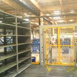 Plataforma de aço com Grating galvanizado