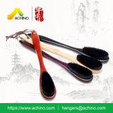 spazzola di vestiti di legno dell'hotel conveniente (AWBH104-Black)