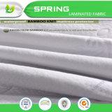 Pista de colchón de bambú de la tela cero del ruido natural y suave de la venta caliente