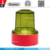 Коробка штемпеля малого ABS пластичная цветастая для одиночного хранения уплотнения