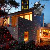 Iluminação 2017 impermeável do laser do jardim RGB do mini Natal ao ar livre de alumínio de China