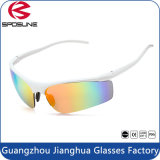 Óculos de sol polarizados unisex dos esportes Jh022 5 vidros permutáveis dos homens das lentes com logotipo feito sob encomenda