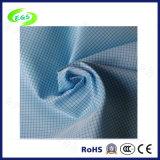 Tela antiestática do ESD do poliéster e da fibra 4%Carbon de 96% (EGS-531)