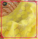 Commercio all'ingrosso di nylon del tessuto del merletto del cavo della guipure di cerimonia nuziale del cotone