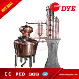 Equipo de cobre de la destilación de la ginebra con el motor