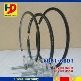 6bb1 4bb1 Motor-Ersatzteile Isuzu Kolbenring (5-12181-023-0 5-12121-055-0)