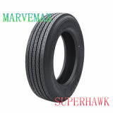 Superhawk/Marvemax TBR, carro resistente completamente de acero y neumático del omnibus (275/70r22.5)