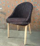 Chaise de café de restaurant en bois de grain de métal de loisirs (JY-F36)