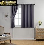 Pequeñas cortinas de ventana cortas diseño gris de las cortinas del nuevo