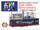 Дуновение впрыски бутылки PVC высокого качества автоматическое пластичное