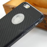 Cassa all'ingrosso del telefono della fibra del carbonio per il iPhone 7/6 più