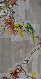 Corte hecho a mano de la mano del mosaico
