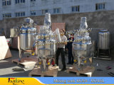 Внешний реактор бака 1000L топления катушки with Агитатор турбины