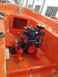 8.5mtr Barco salva-vidas aberto usado com motor