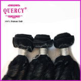 Unverarbeitetes GroßhandelsRemy wellenförmiges Haar-Webart-System-menschliches gerades Haar