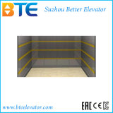 Grande elevador do carro do espaço e da carga com portas opostas