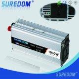 DC инвертора силы автомобиля 1000W 12V 220V к инвертору AC солнечному