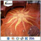床のコーティングのための金属顔料