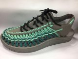 Neue Art-Sommer-Schuhe des gesponnenen Schuhes
