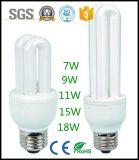 4u形LEDのトウモロコシランプのセリウムのRoHS公認E27 B22のベース