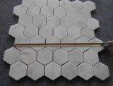 Холодная панель стены мозаики Carrara белая мраморный