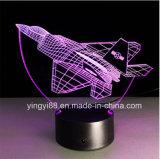 Acryl-LED Nachtlicht des Fabrik-Großverkauf-, Acrylhauptlampe des dekor-3D