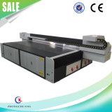 Impresora ULTRAVIOLETA plana del metal de la impresora para el vidrio plástico de cuero de madera