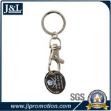 Alta qualità di Keychain della moneta del carrello di marchio del cliente