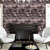 Vente en gros Prix à bas prix Natural Stone Designs PVC lavable 3D Living Room Wallpaper for Home Decor