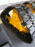 Tipo médio esteira rolante da trilha para a roda dianteira do trator
