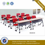 Bureau utilisé de double de qualité de salle de classe de lycée de mobilier scolaire (HX-5D149)