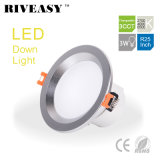 3W 2.5 인치 LED Downlight 스포트라이트 점화 SMD Ce&RoHS 통합 운전사 높은 빛 3CCT