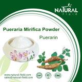 Pó natural 98% de Puerarin do extrato da planta