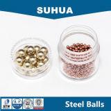 Plata/oro/níquel/estaño/cinc/cobre/bola de acero revestida de cobre amarillo