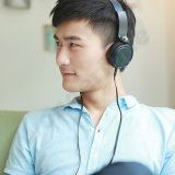 para Sony-Xb400 a linha controle Fone de ouvido-Preto