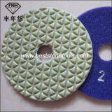5 단계를 가진 새로운 다이아몬드 건조한 유연한 닦는 패드