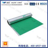 Underlay Moistureproof da espuma de IXPE para o assoalho laminado com folha de alumínio