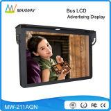 21.5 인치 Andriod 통신망 WiFi 3G 4G 지붕 마운트 버스 LCD 텔레비젼 모니터 24V