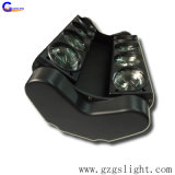 RGBW 다채로운 LED 밤 단지 디스코 8*10W 이동하는 맨 위 거미 광속 단계 빛